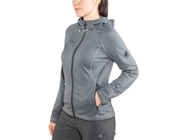 Mammut Runbold ML Hooded Jacket Women black mélange